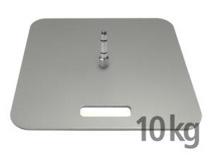 Bodenplatte 10 kg