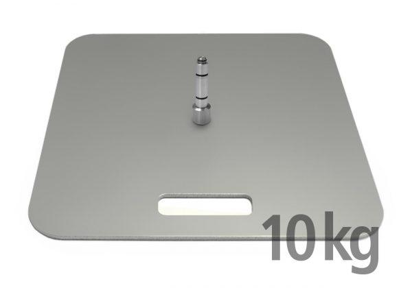 Bodenplatte für Beachflags, 5 kg