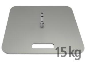 Bodenplatte 15 kg