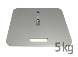 Bodenplatte 5 kg