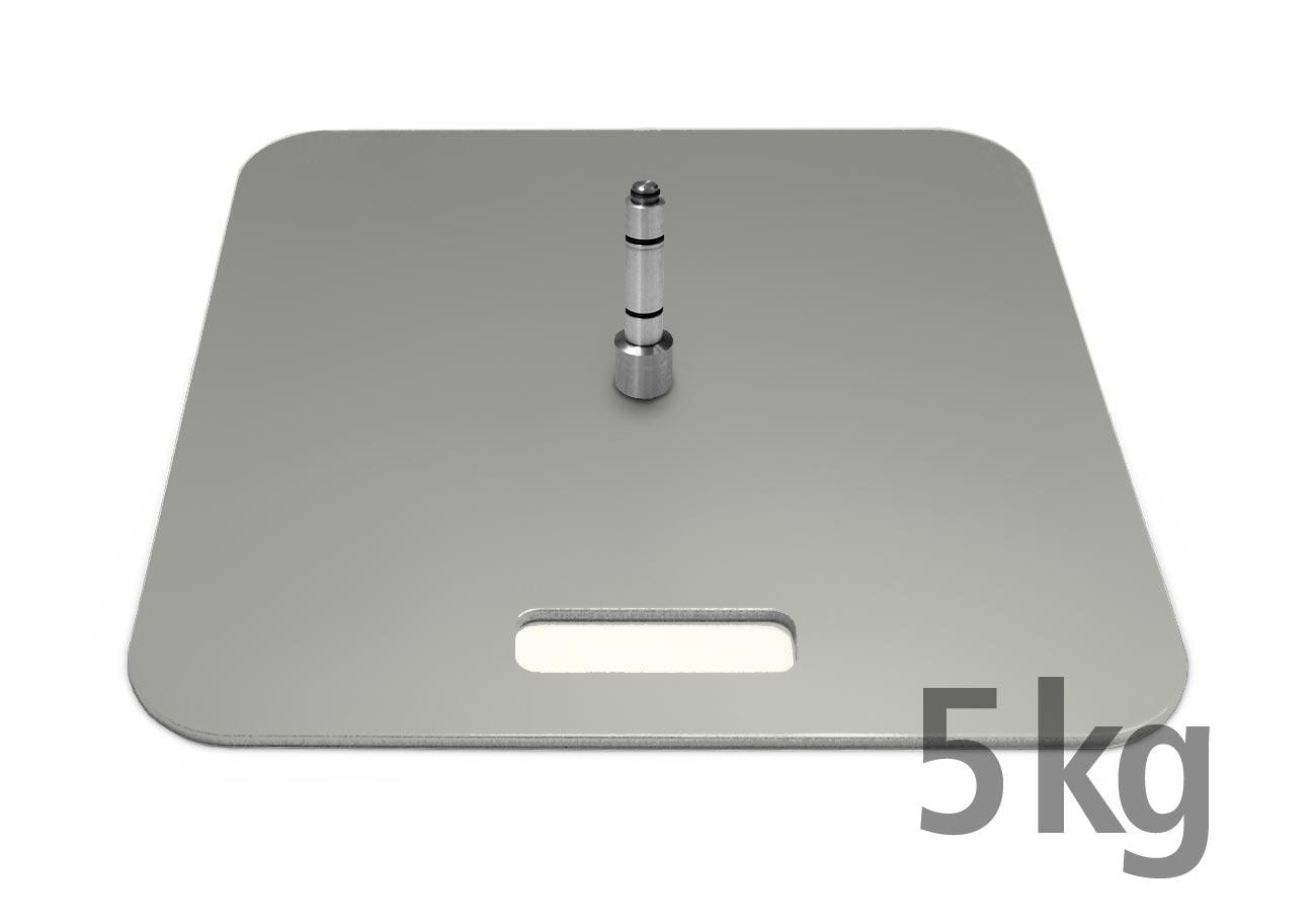 Bodenplatte-5kg