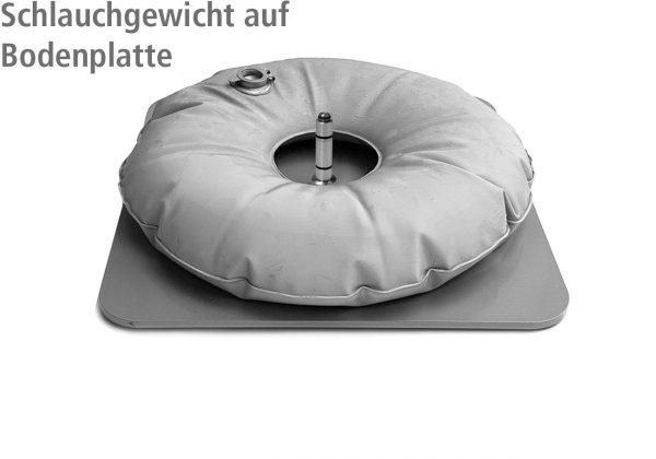 10 Liter Schlauchgewicht auf Beachflag-Bodenplatte