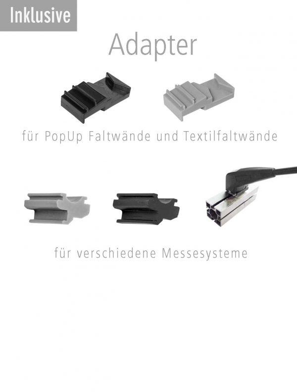 Adapter für Strahler und Spots