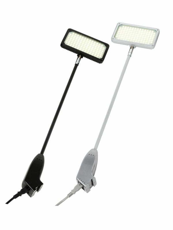 LED Strahler 25 Watt in silber und schwarz