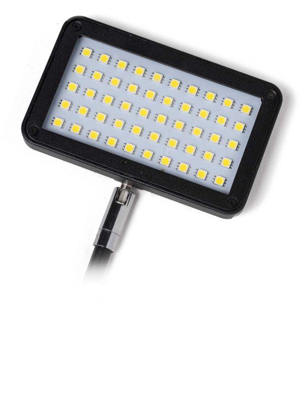 schwarzer Wand LED Strahler 11 Watt