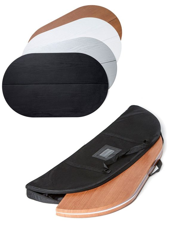 Thekenplattten in weiß, graus/ silber, Holzoptik, schwarz.