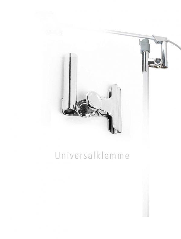 Universalklemme für RollUp Displays