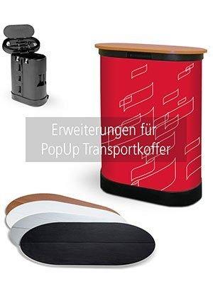 Zubehör für PopUp Transportkoffer.