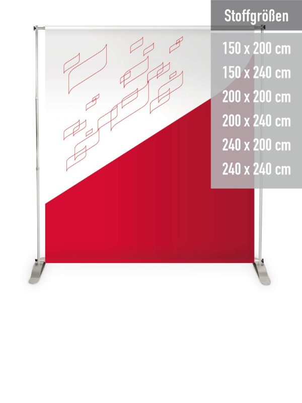Display Bannerwand Vario