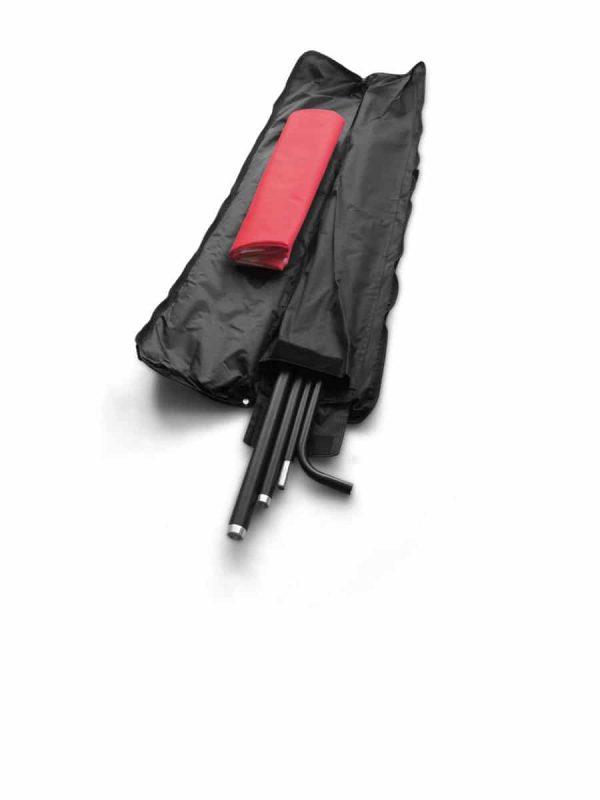 Transporttasche für Beachflag Rechteck.