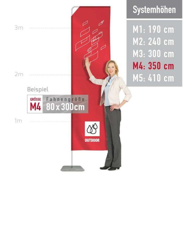 Mobile Fahnen M4