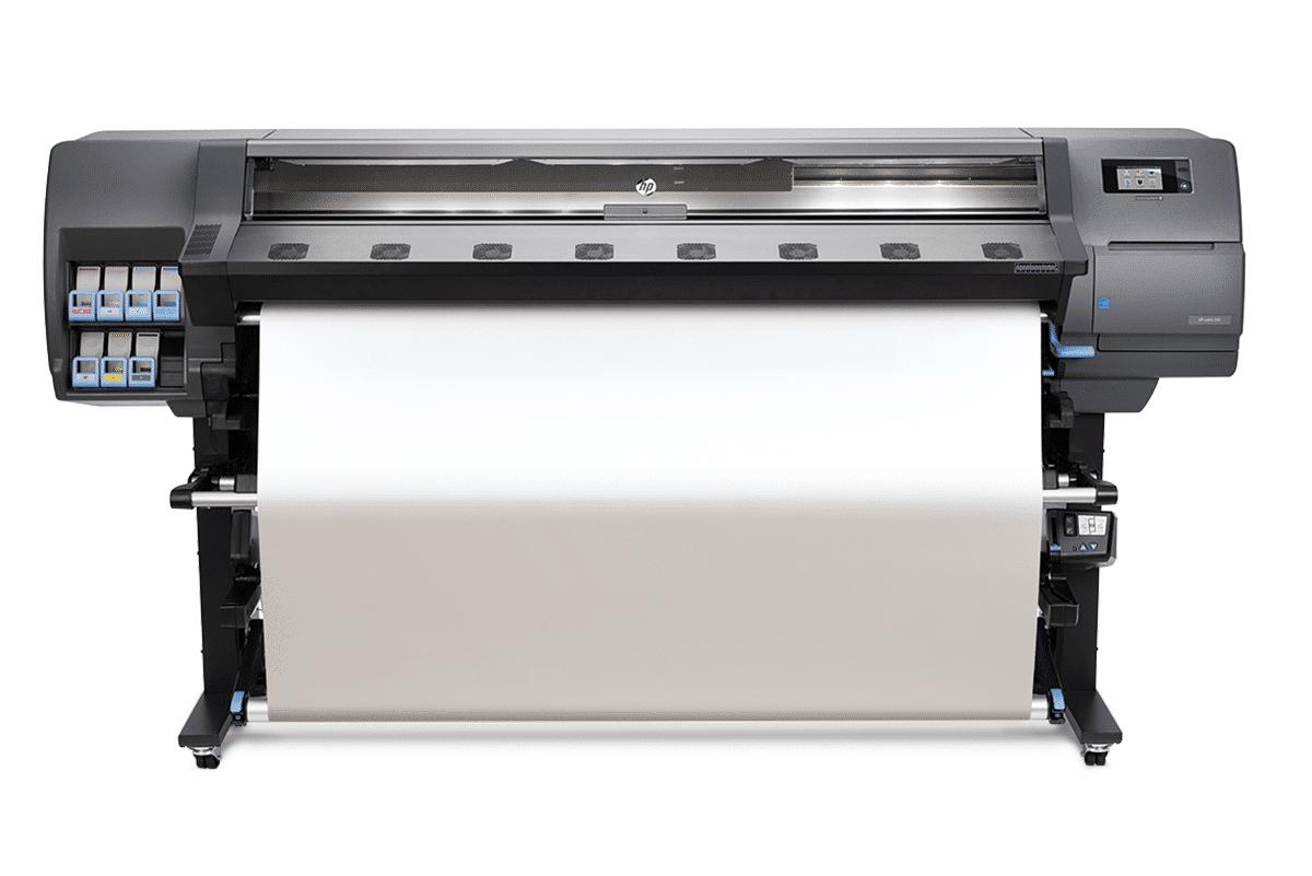 HP L360 Drucker aus Basis von Latex-Tinten