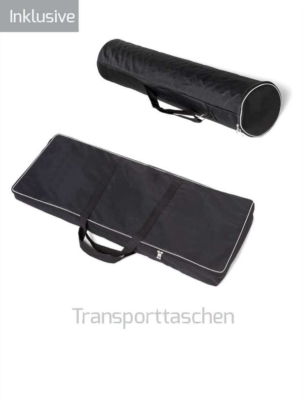Transporttaschen für Messetheken