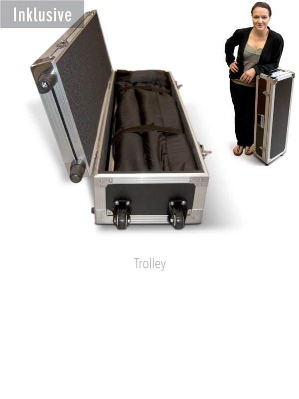 Koffer für das Outdoor RollUp Flex