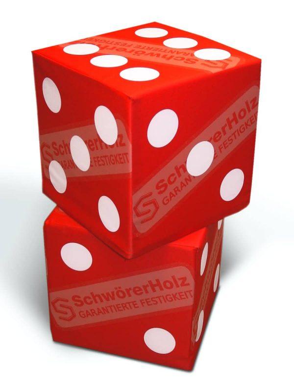 """Ein Cube als """"Würfel"""""""