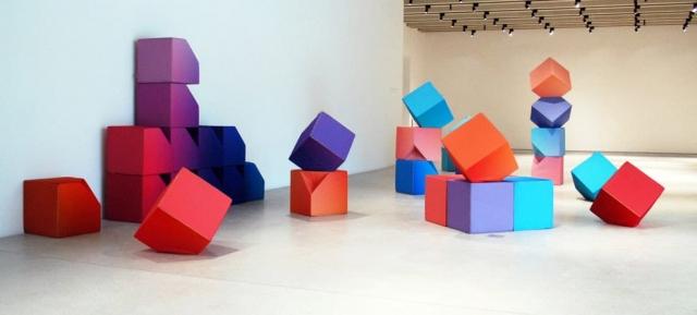 Bauhaus Sitzwürfel - Sitzwürfel mit fehlender Ecke