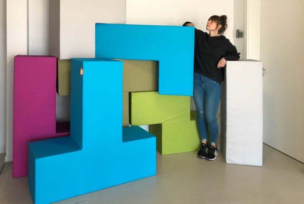 Ein Mega Tetris-Spiel