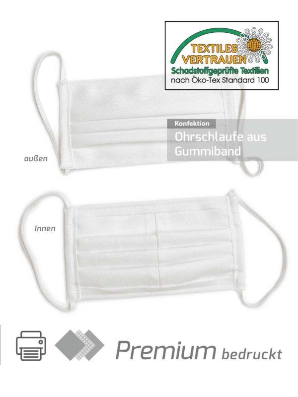 Premium Mund- Nasenmasken als Alltagsmaske