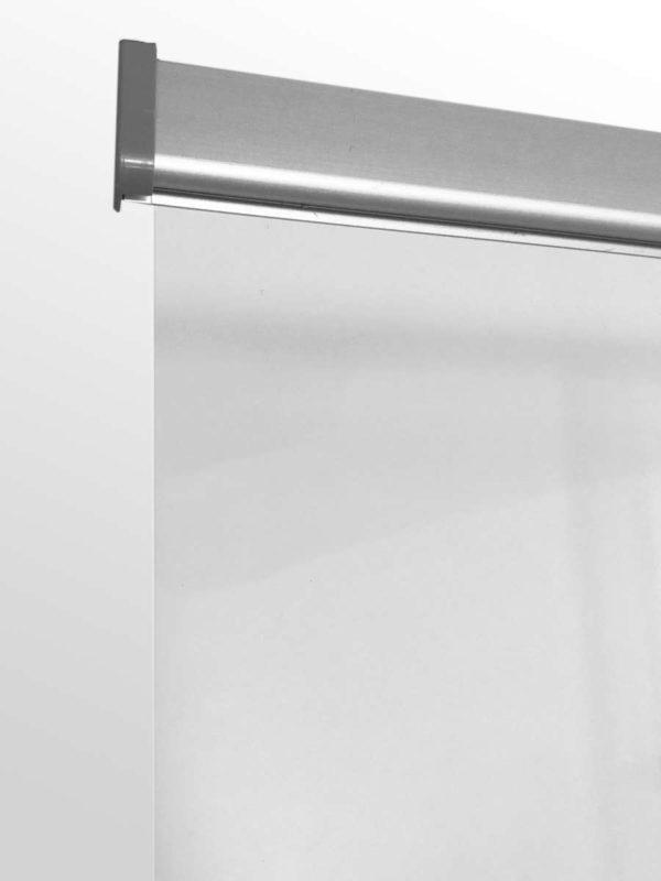 RollUp System inkl. transparentem PET