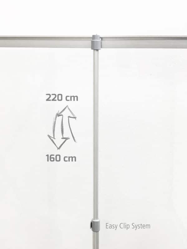Hygieneschutz RollUP Professional
