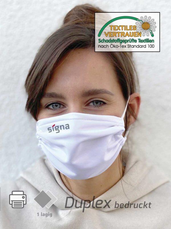Alltagsmaske Schutzmaske Duplex