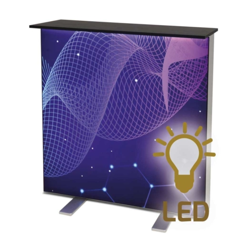 Messetheke mit LED
